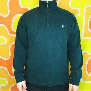 Forrest Green Polo Sweater